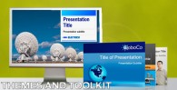 Main image: PPT themes and toolkit