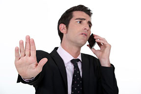Don't be that guy whose cell phone rings during a meeting