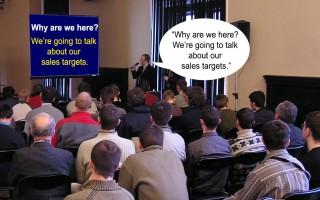How to fix a boring presentation