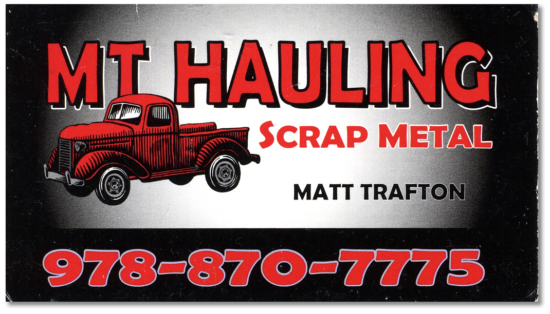 MT Hauling\'s Great Business Card | Laura M. Foley Design