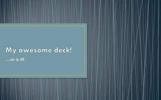 What's the best built-in PowerPoint theme?