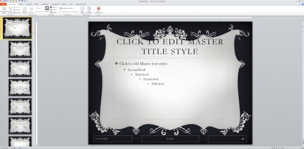 Ugly PowerPoint template