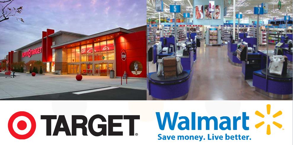 wal mart vs target