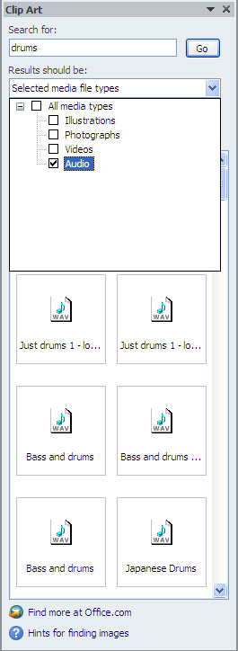 Clipart library