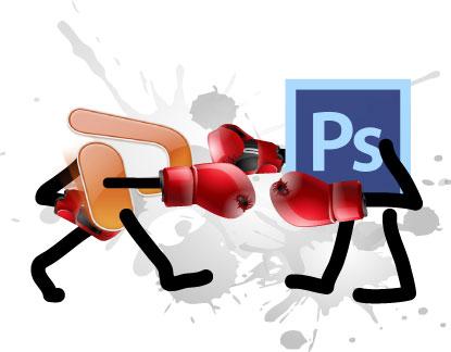PowerPoint vs. Photoshop