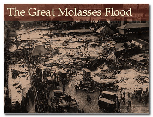 Photo of the Great Molasses Flood