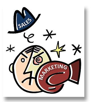 Marketing vs. Sales image
