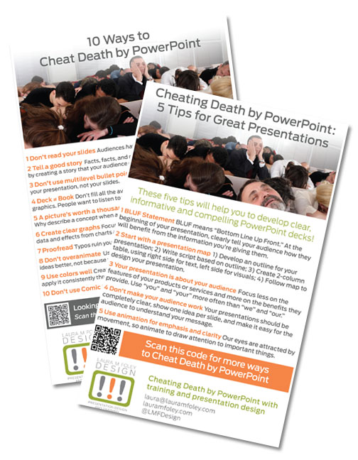 what's the best kind of powerpoint handout? | laura m. foley design, Powerpoint templates