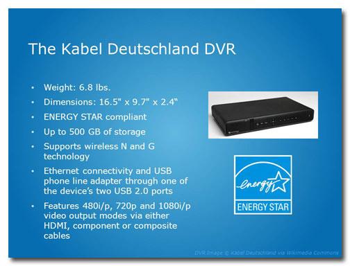 Before slide: DVR benefits