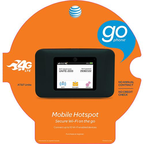 AT&T mobile wireless hotspot