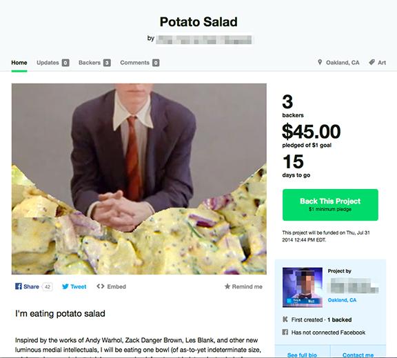 Eat potato salad