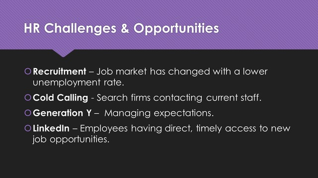 HR challenges slide, before